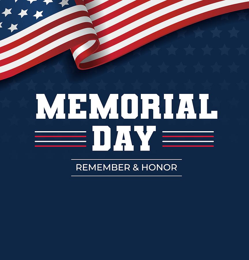 It's Memorial Day Weekend-